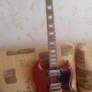 Электрогитара epiphone faded G-400 worn cherry, бу