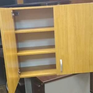 Шкаф - тумба для оргтехники 2 секции б/у см14067