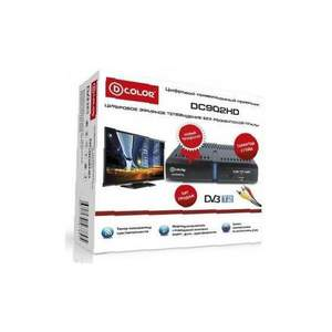 Ресивер D-color DC902HD DVB-T/T2