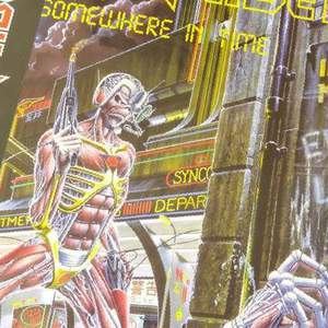 Iron Maiden Somewhere In Time 2013 Vinyl, LP, Новая Игирма