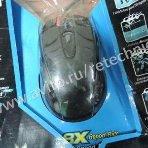 Мышь A4Tech X-718BK Black USB