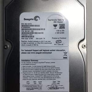 HDD SATA 160/250/320 Gb