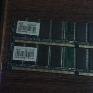NCP NC7666 DDR256MB PC3200 NCP NC7746 DDR256MB PC3, бу