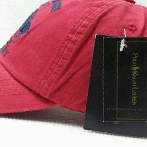 Кепка бейсболка Polo by Ralph Lauren N. Y. C (red)