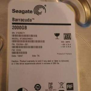 Продам HDD Seagate Barracude 2000GB