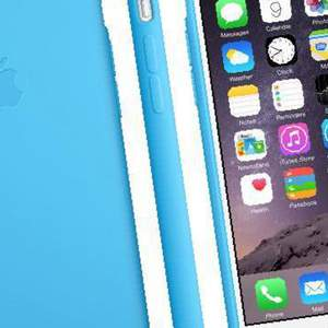Apple Case Silicone Blue (голубой) для iPhone 6