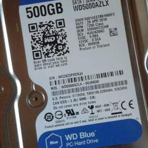 Western Digital 500 GB, бу