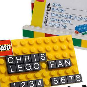 Lego Business Card Holder 850425 Визитница