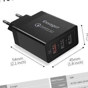 Сетевое зарядное устройство QC 3. 0